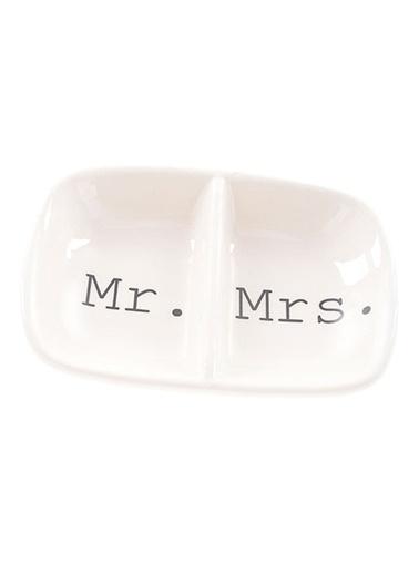 Warm Design Mr. & Mrs. Temalı Yüzüklük Beyaz